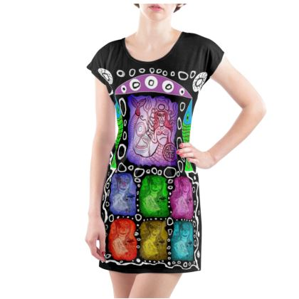 African Mermaid - Tunic T Shirt