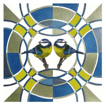 Symmaria Bird Collection Coasters