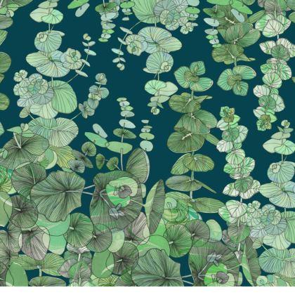 Eucalyptus China Plates