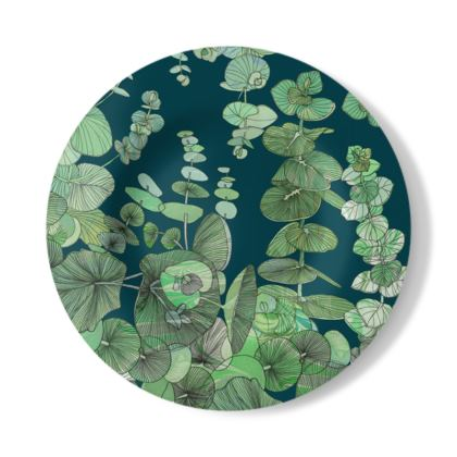 Eucalyptus Decorative Plate