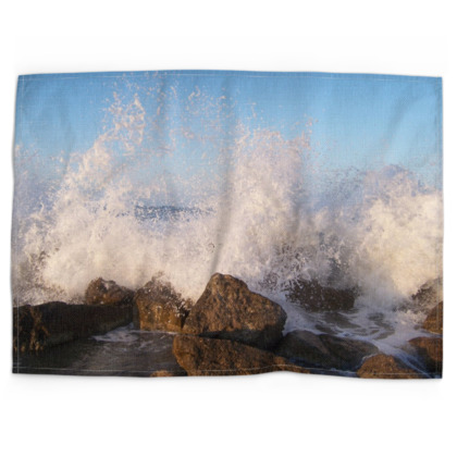 Ocean Photography Tea Towels