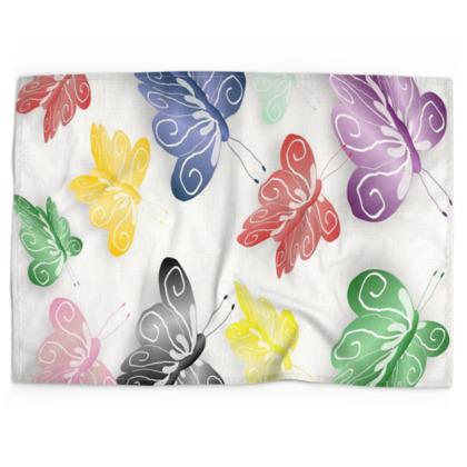 Butterfly Design Tea Towels