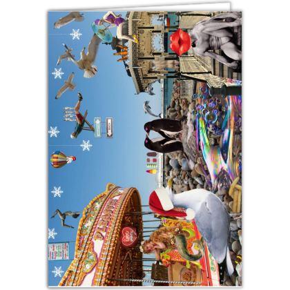 Christmas on Brighton Beach Greetings Cards