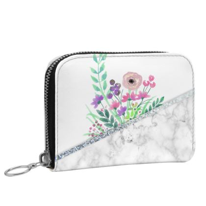 Small Leather Zip Purse