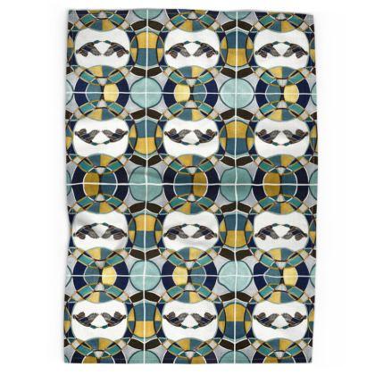 Mallard Design Tea Towel