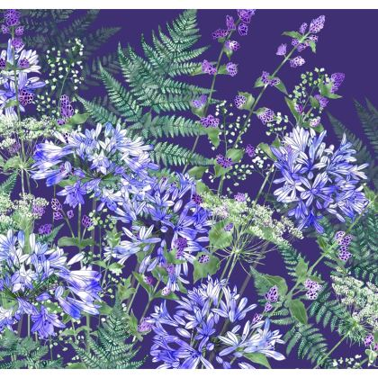 Agapanthus Medley Coasters
