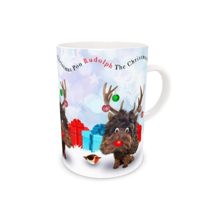 Chocolate poo Bone China Mug