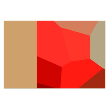 Beautiful Shades of Red Abstract Pattern Survivor 1 © US and National