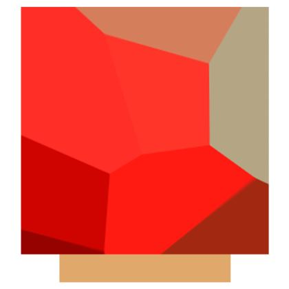 Beautiful Shades of Red Abstract Pattern Design Slip Dress Survivor 1© US and National