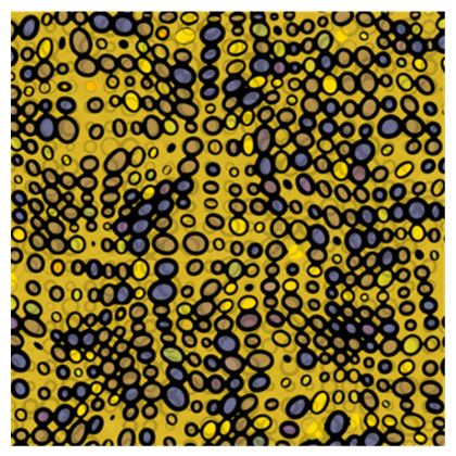 Yellow and Black spots Espadrilles