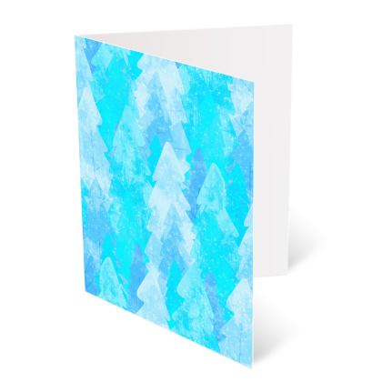 Occasions Cards - Ice blue forest