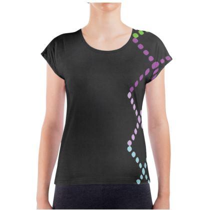 Colorful Dotted Black Patterned Design Survivor 1