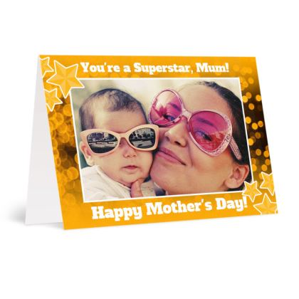 Superstar Mother's Day Card