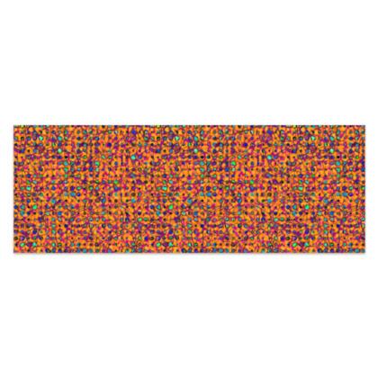 "Vibrant Orange, Turquoise and Magenta Jungle Sarong Classic Half - 66'x24"" (167cmx60cm)"