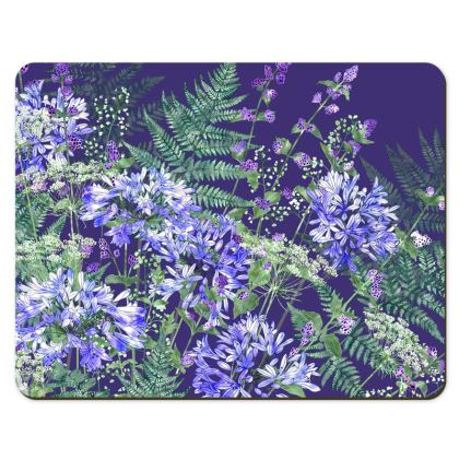 Placemats - Agapanthus Medley