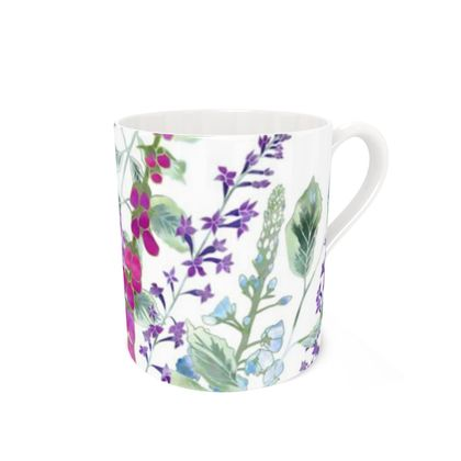 Bone China Mug - Summer Rhapsody