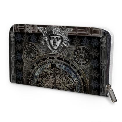 Dark Astrolabe - Leather Purse
