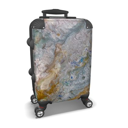 Star Bound Abstract Suitcase