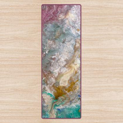 Opal Essence Abstract Fitness Mat