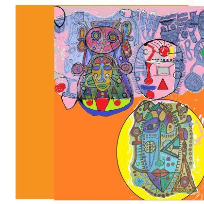 Dancing Robot - Skater Dress