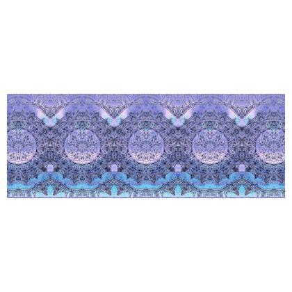 Purple gradient mandala Cylinder Tins