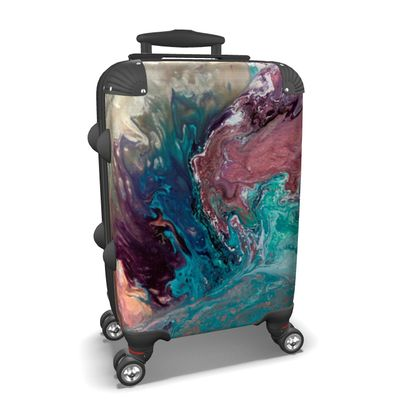 If Dancers Feet Could Paint Suitcase