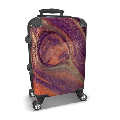 Feather Light Abstract Suitcase