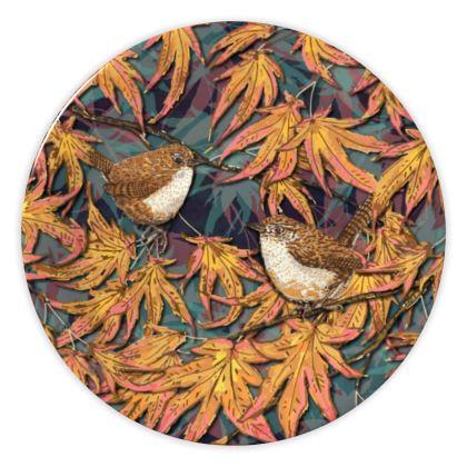 Wrens China Plate