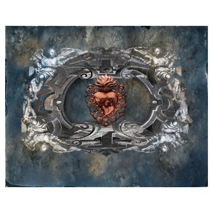Sacred Heart - Clutch Bag