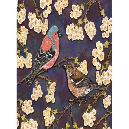 Chaffinches Tray