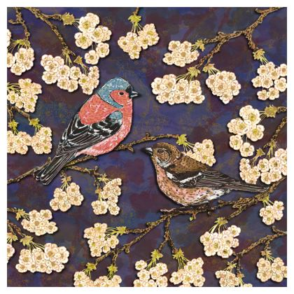 Chaffinches Coasters