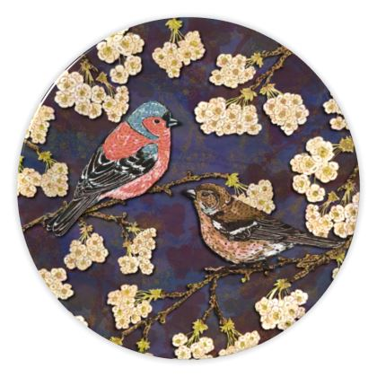 Chaffinches China Plate