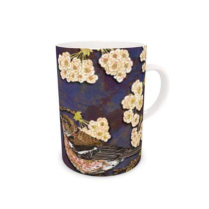 Chaffinches Bone China Mug