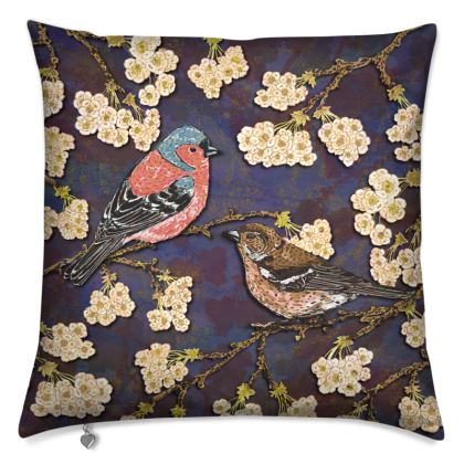 Chaffinches Cushion