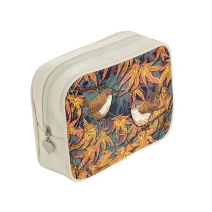 Wrens Make Up Bag