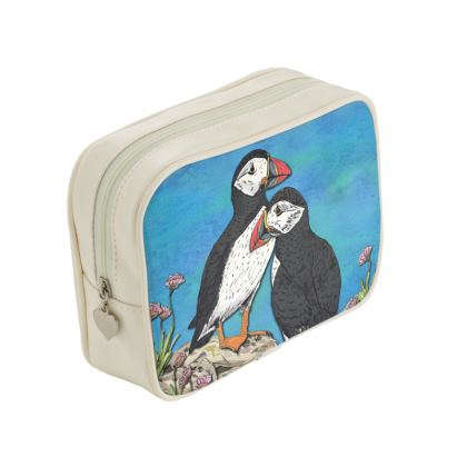 Puffins Make Up Bag