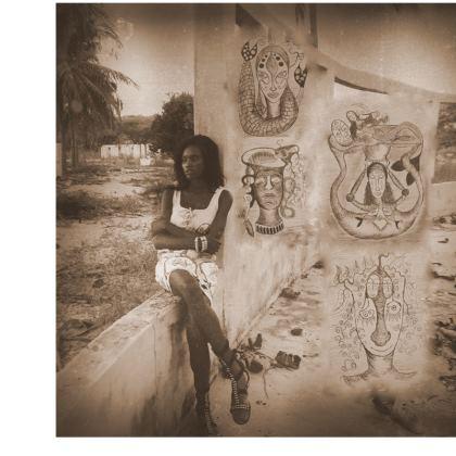 Gambian Poet - Tunic T Shirt