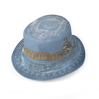 St. Barbara / Melusine - Reversible Hat