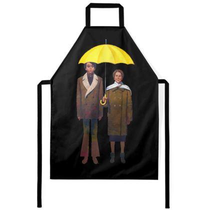 Aprons.  Yellow Umbrella