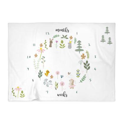 Baby Milestone Blanket - Ginny