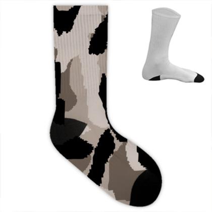 Camouflage Desert Socks