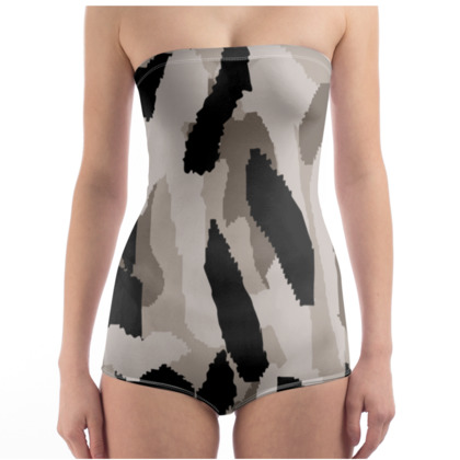 Camouflage Design Swimsuit