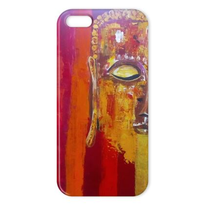 iPhone X Case Abstract Buddha