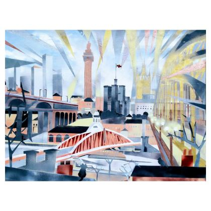 Toon Clutch Bag with Faux Leather Option