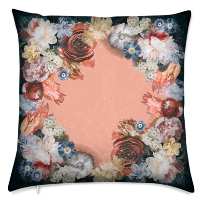 Flowers - Velvet Cushion