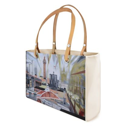 Unique Newcastle Toon Designer Handbag Leather or Vinyl option
