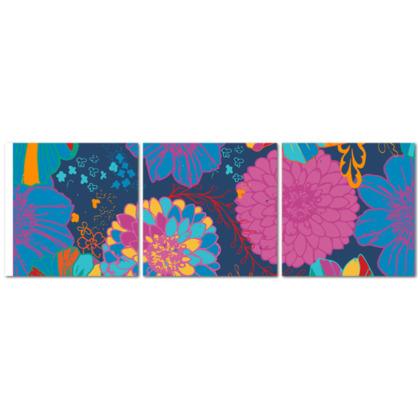 Wall Art Triptych - Roquetas