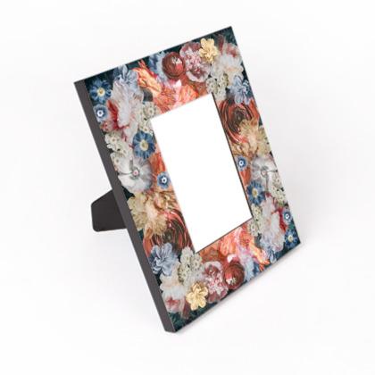 Flowers (portrait) - Photo Frame
