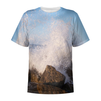 Ocean Photography All Over Print T Shirt