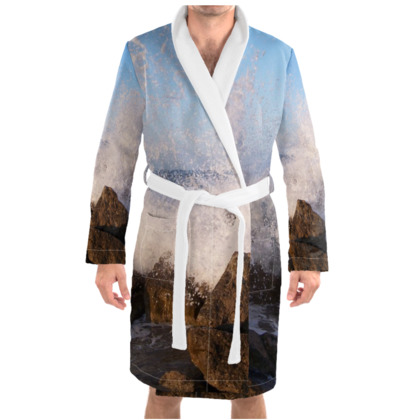 Ocean Photography Dressing Gown